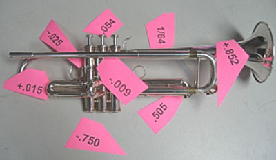 Precision Valve Alignments are recomended for Yamaha Trumpets