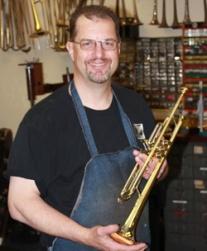 Osmun Music Trumpet Specialist Jim Becker